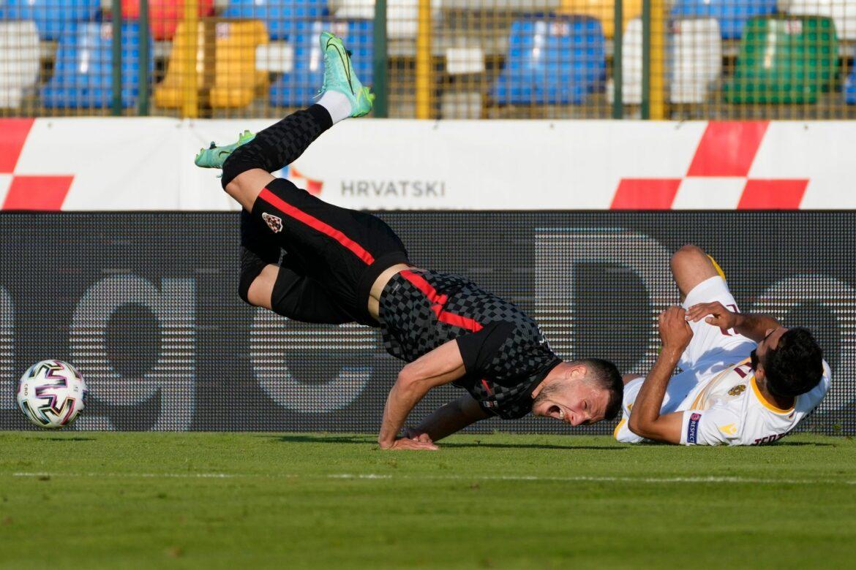 Kroatien und Nordmazedonien in EM-Tests mit Unentschieden