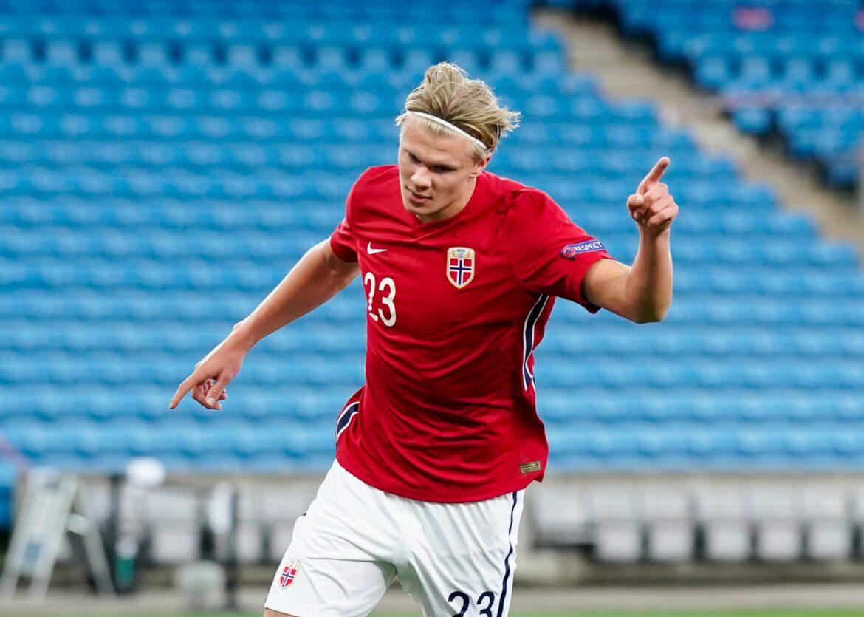 Dank Haaland: Norwegen gewinnt Test gegen Luxemburg