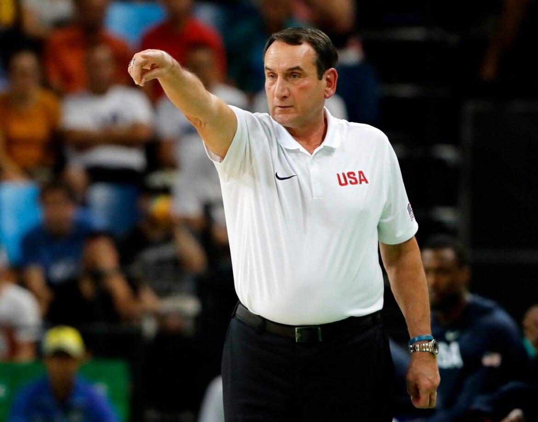 Rekord-Basketballtrainer Krzyzewski hört auf