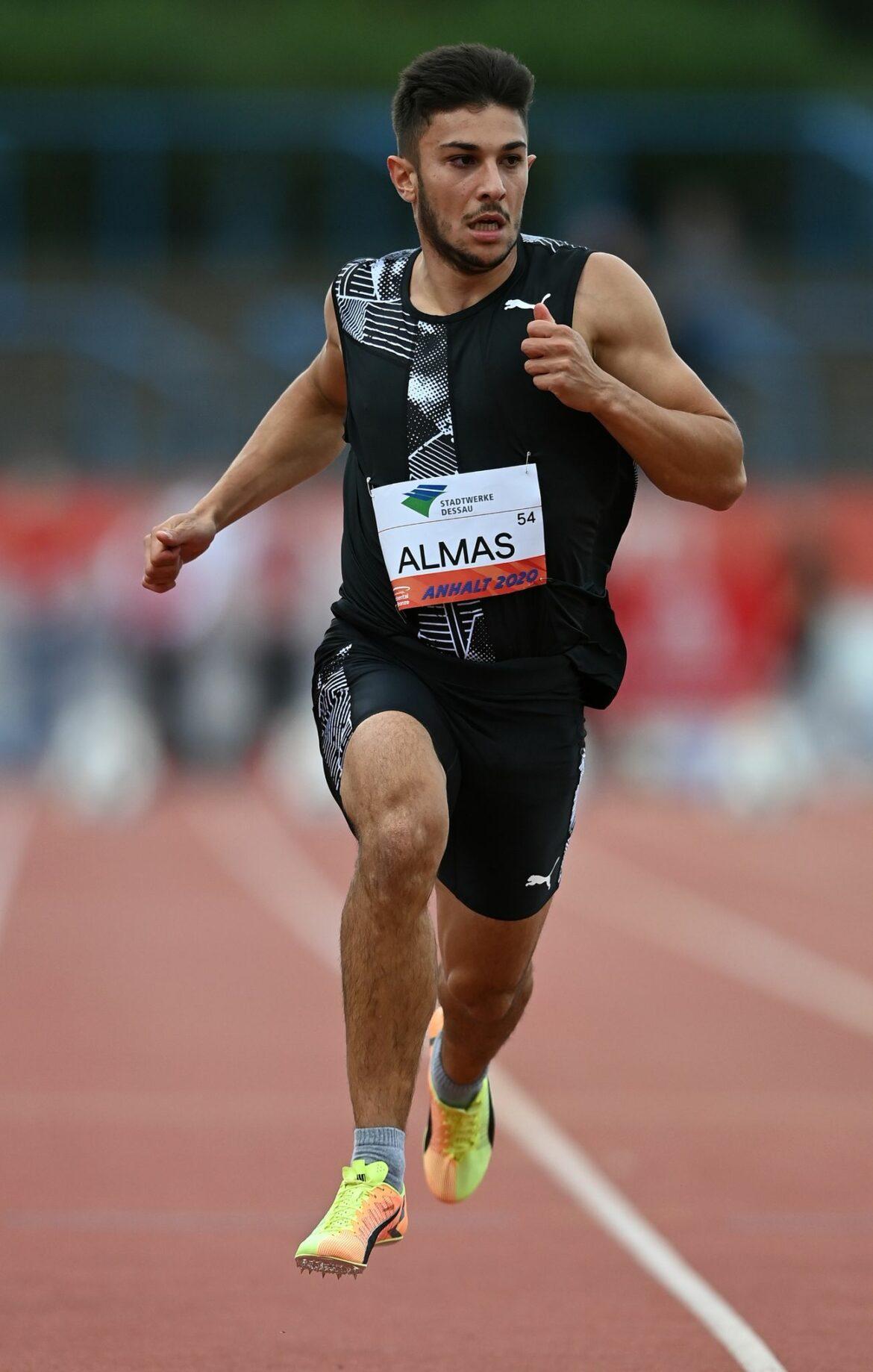 Letztjähriger 100-Meter-Meister Almas fehlt in Braunschweig