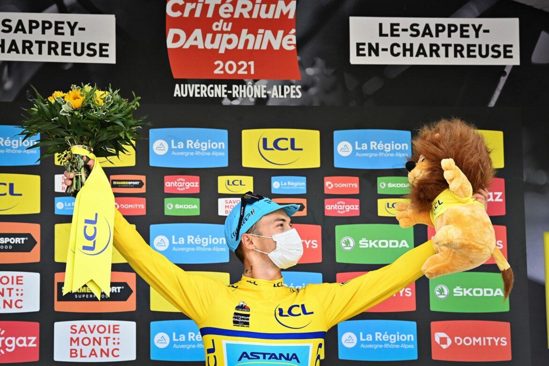 Kasache Luzenko neuer Spitzenreiter bei Dauphiné-Rundfahrt