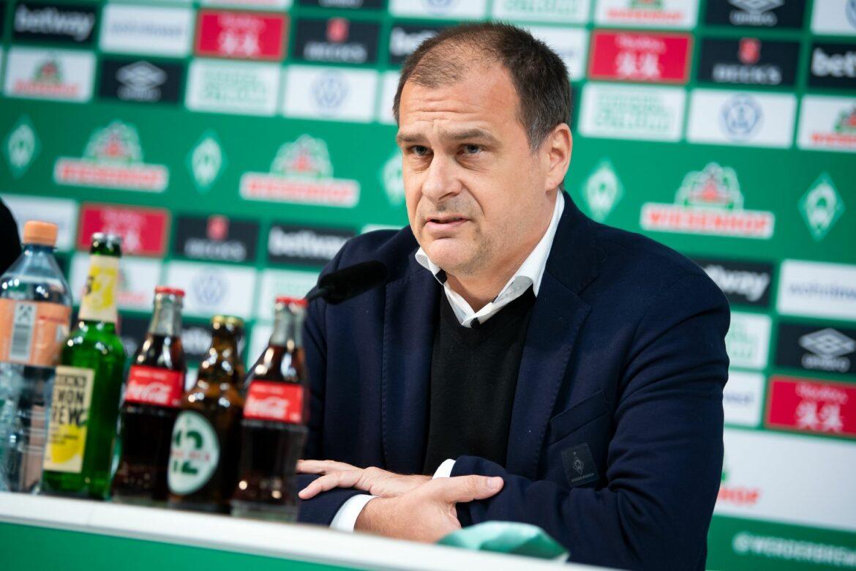 Geschäftsführer Filbry kritisiert Ex-Coach Kohfeldt