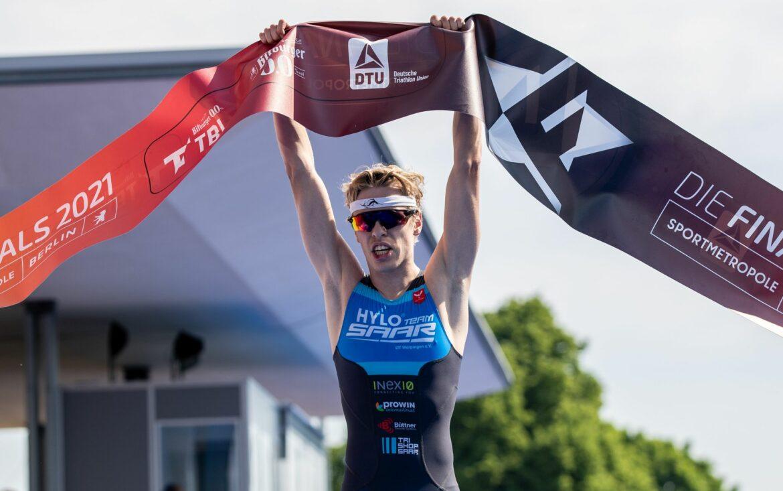TimHellwig gewinnt deutsche Triathlon-Meisterschaft