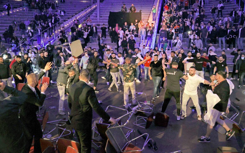 Prügelei am Boxring: Ausschreitungen bei Kabayel-Sieg