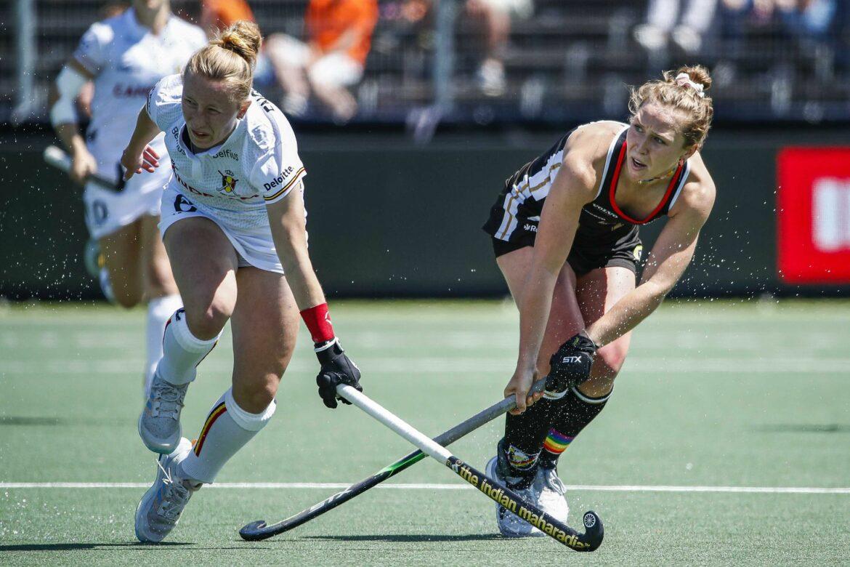 Hockey-Herren auf Kurs, Damen nur remis gegen Belgien