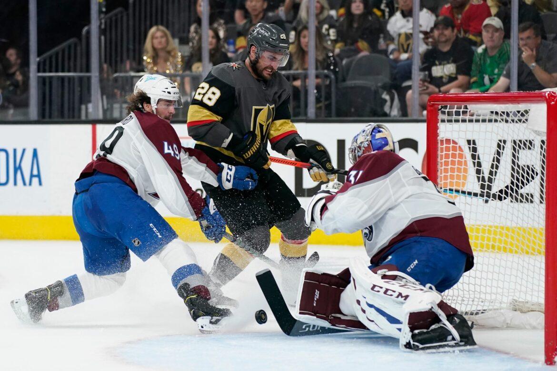 NHL: Avalanche mit zweiter Niederlage gegen Golden Knights