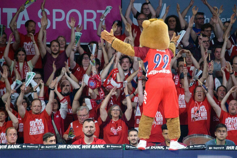 Basketball-Finalpartien in München vor 1000 Fans