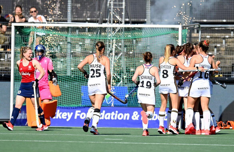 Deutsche Hockey-Damen besiegen England in EM-Vorrunde