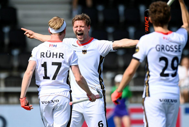 Deutsche Hockey-Herren im EM-Halbfinale gegen England