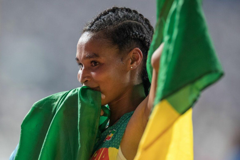Äthiopierin Gidey stellt 10.000-Meter-Weltrekord auf