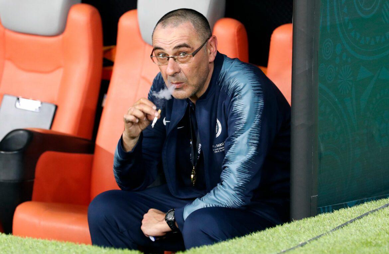 Emoji-Tweet von Lazio: Wird Sarri neuer Trainer?