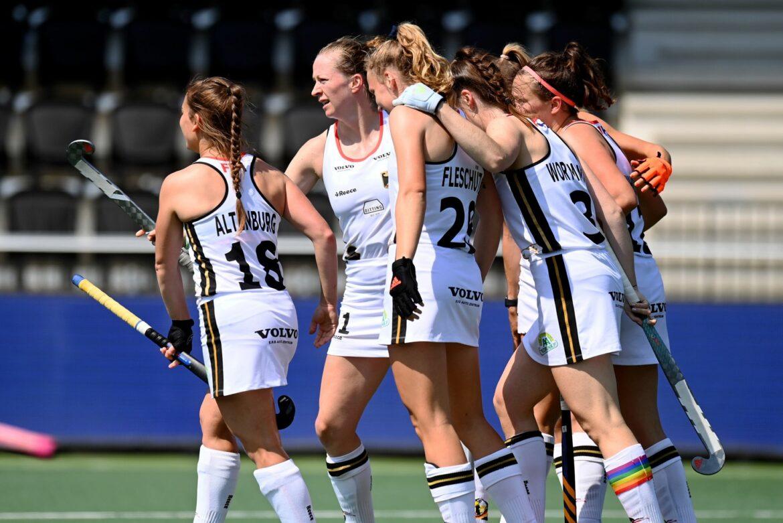 Deutsche Hockey-Damen stehen im EM-Halbfinale gegen Spanien