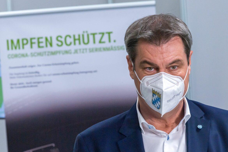 Söder verteidigt Konzept mit Zuschauern in Münchner Stadion