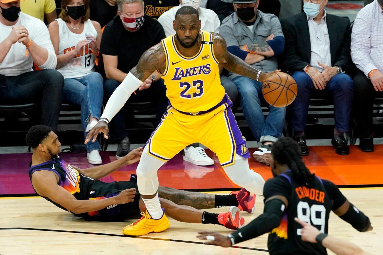 LeBron James bei den Lakers künftig mit der Nummer 6