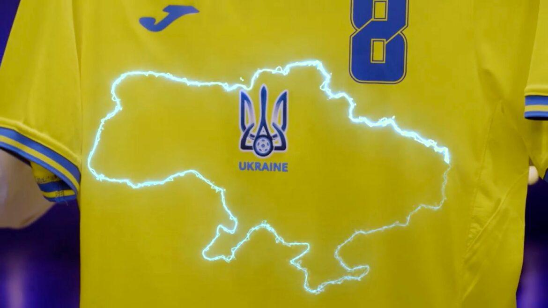 UEFA zuUkraine-Trikot:Silhouette des Landes kann bleiben