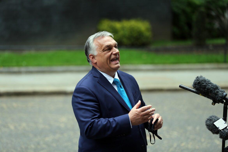 Orban verteidigt das Ausbuhen kniender Iren