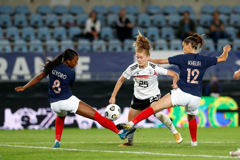 Ein Spiel voller Lernsituationen für die DFB-Frauen