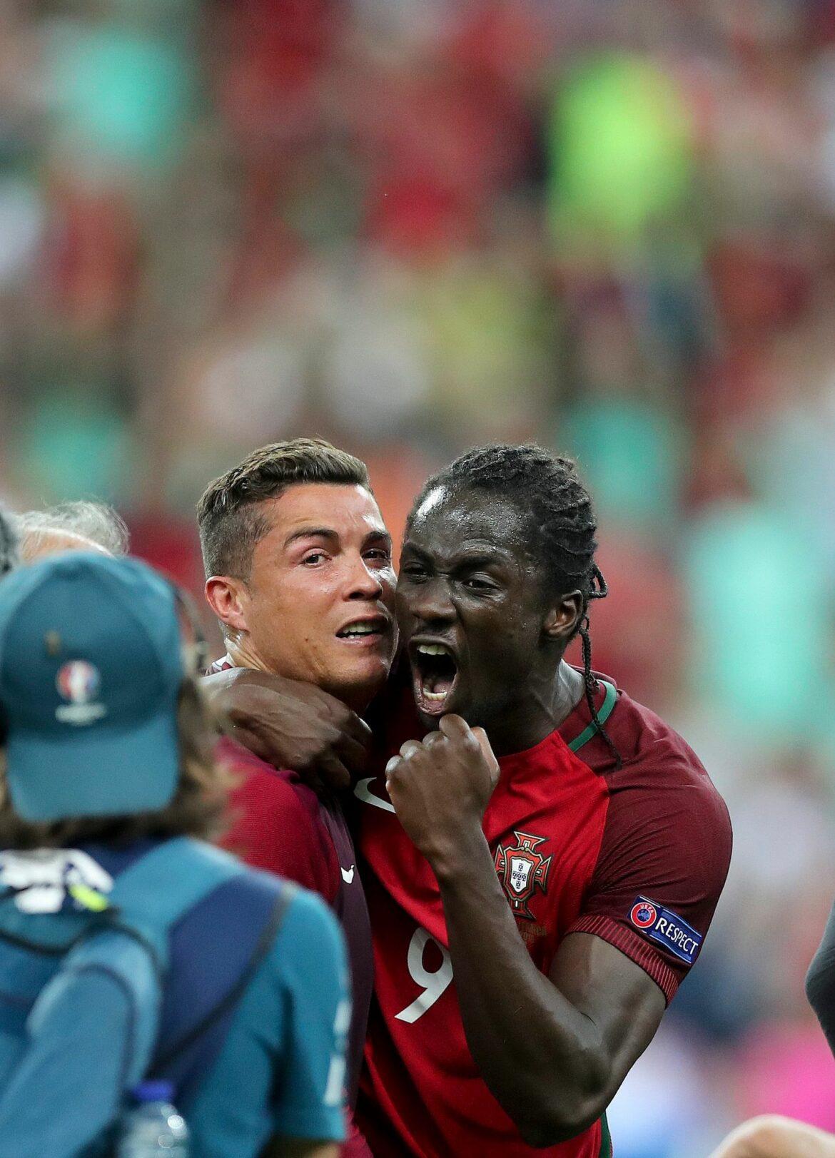 Portugals Eder über Ronaldo: «Guter Kamerad»