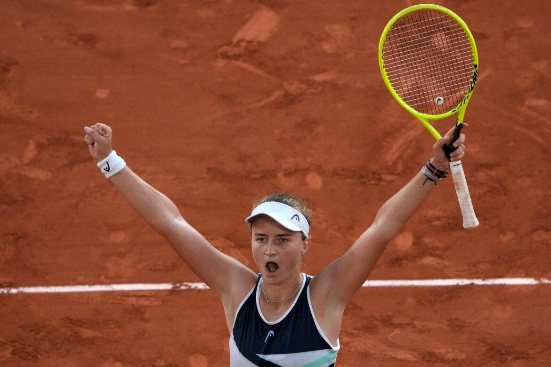 Tschechin Krejcikova bei French Open auch im Doppel-Finale