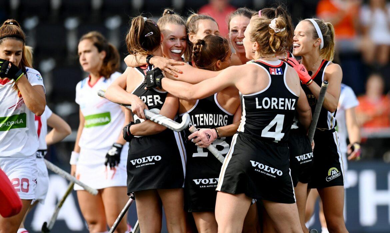 Hockey-Damen nach Sieg über Spanien wieder im EM-Finale