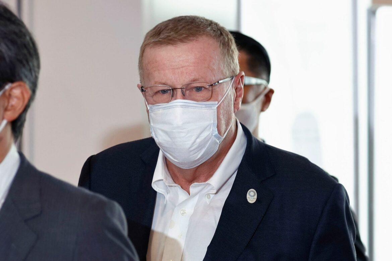Tokio: IOC-Vize nach Corona-Kontroverse eingetroffen