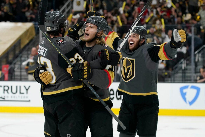Vegas Golden Knights gewinnen gegen Montreal