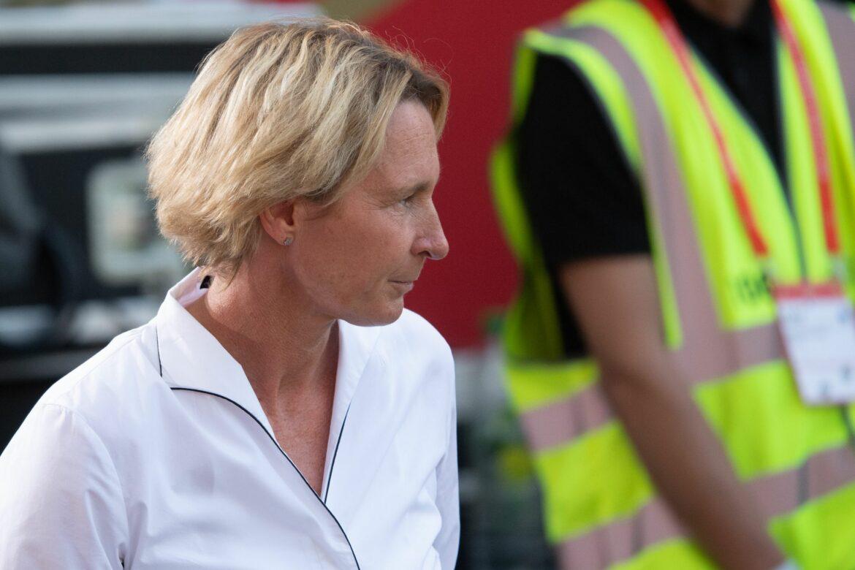 Bundestrainerin: Egal ob DFB-Präsident Frau oder Mann ist