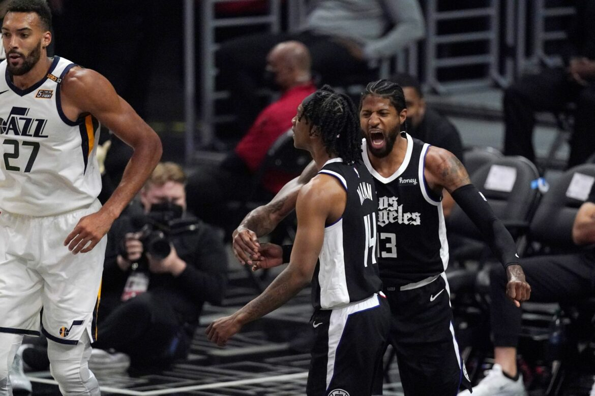 Clippers nach Aufholjagd erstmals in Conference-Finals