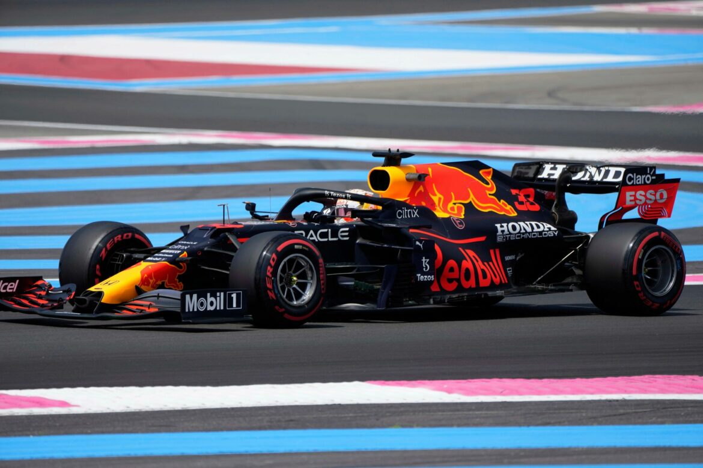 Verstappen holt Pole Position in Frankreich