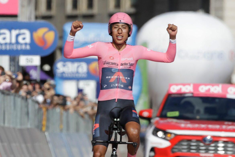 Giro-Sieger Bernal in seiner Heimatstadt empfangen