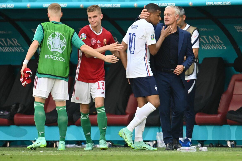 Frankreichs Mbappé im Budapester Stadion beschimpft