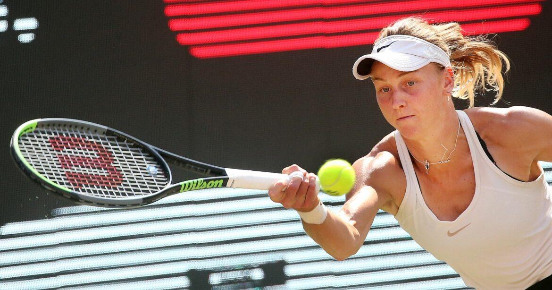 Tennis: Qualifikantin Samsonowa überrascht in Berlin