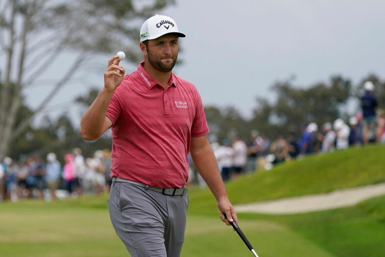Golfer Rahm gewinnt 121. US-Open mit einem Schlag Vorsprung