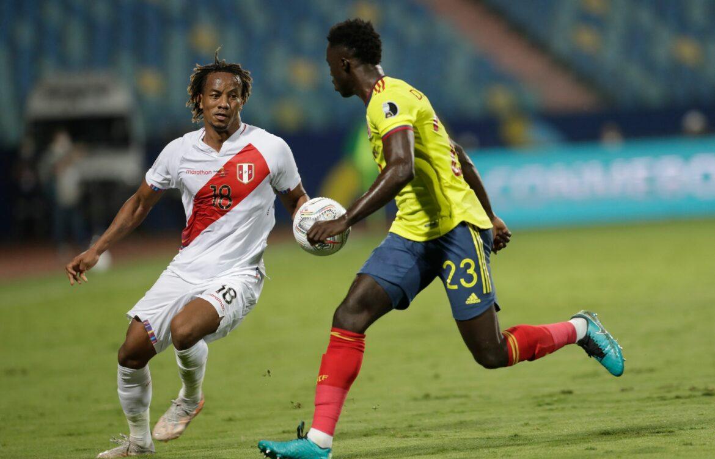 Peru schlägt Kolumbien in der Copa América