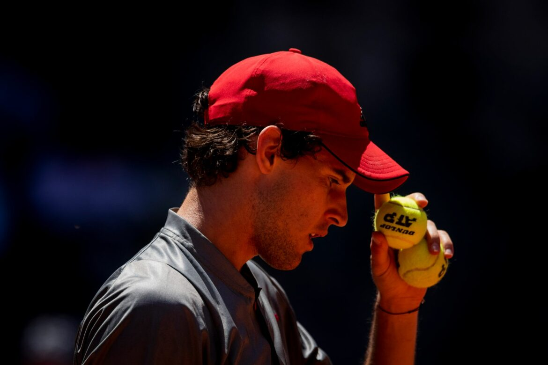 Nächster Rückschlag für österreichischen Tennisprofi Thiem