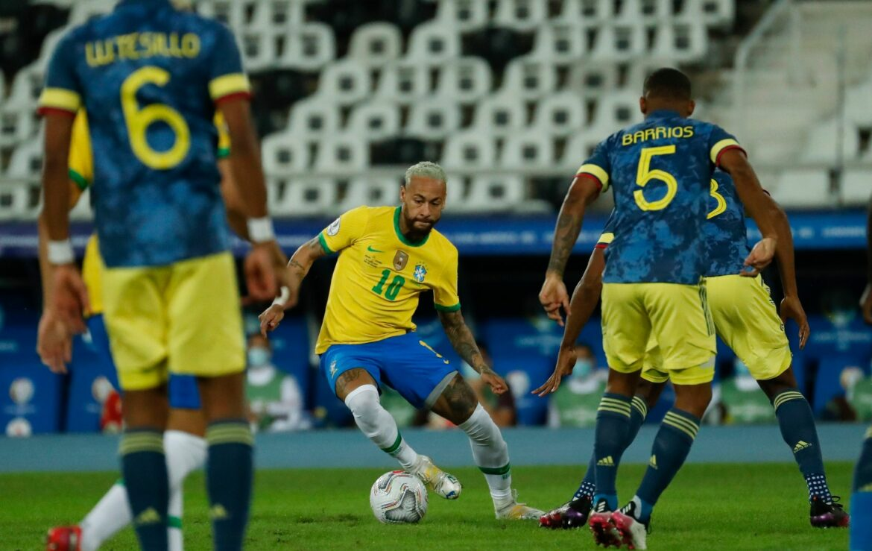 Brasilien schlägt Kolumbien in der Copa América