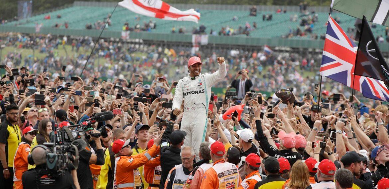 Formel-1-Rennen in Silverstone vor vollen Rängen