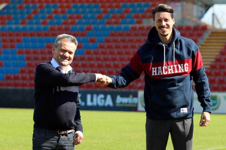 Vom Novizen zum Chef:Wagner wird Haching-Trainer