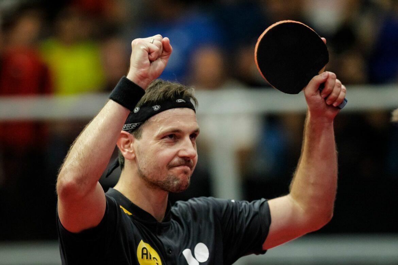 Timo Boll erreicht Achtelfinale der Tischtennis-EM