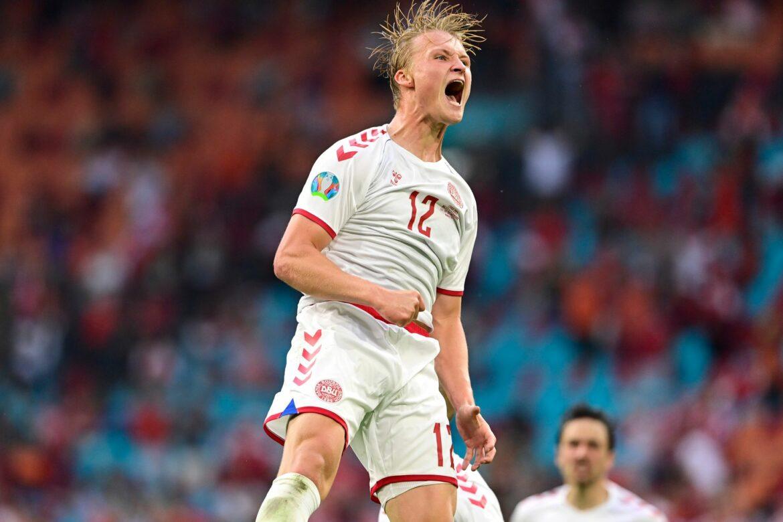 Dolberg trifft doppelt: Dänemark besiegt Wales