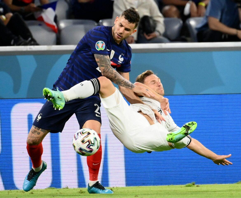 Frankreichs Hernandez wohl doch für das Achtelfinale fit