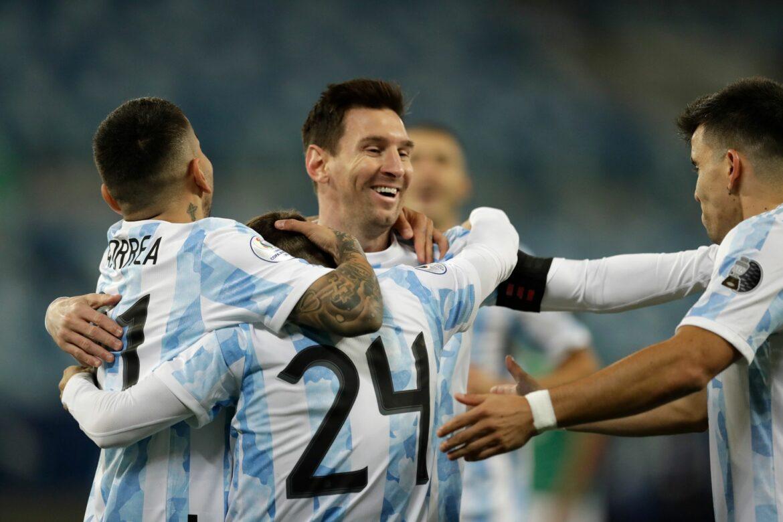 Argentinien schlägt Bolivien im letzten Gruppenspiel
