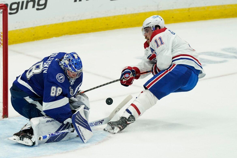 Titelverteidiger Lightning führt gegen Canadiens 1:0