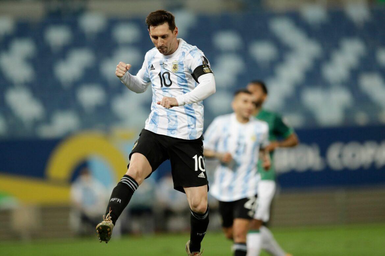 «Messi-Show»: Gala von Argentiniens Rekordmann Messi