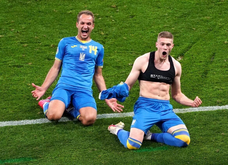 Ukraine nach Sieg gegen Schweden im Viertelfinale