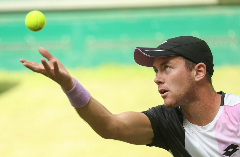 Wimbledon-Aus: Koepfer enttäuscht, aber nicht unzufrieden