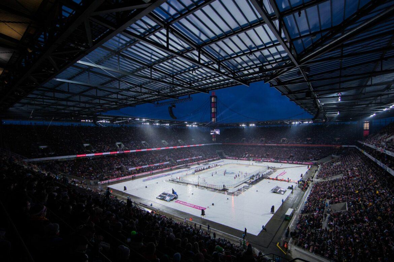 Eishockey-Freiluftspiel Köln-Mannheim findet Neujahr statt
