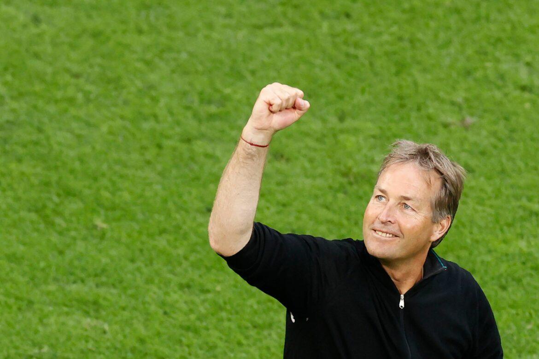 Coach Hjulmand:Zuschauer in Wembley zum Schweigen bringen