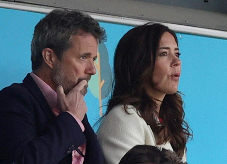 Royale Unterstützung für Dänen gegen England