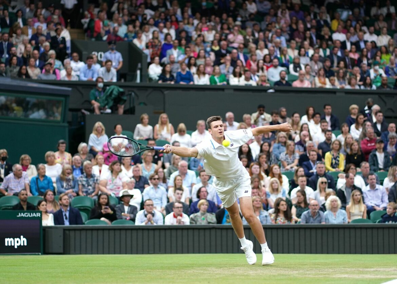 Pole Hurkacz letzter Herren-Viertelfinalist in Wimbledon